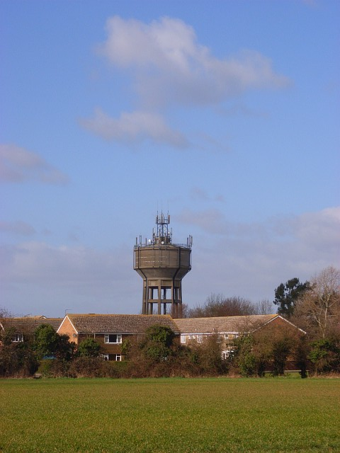 Houses and water-tower, Berinsfield