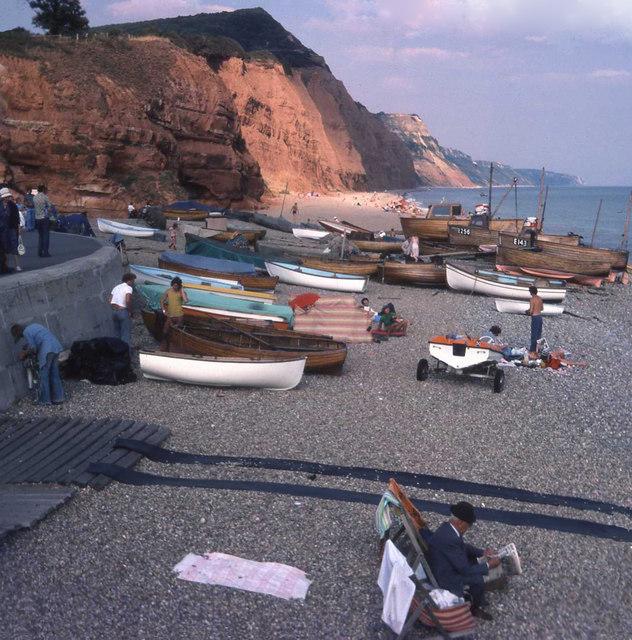 Boats at Sidmouth