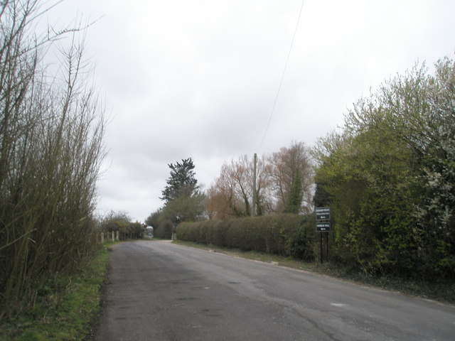 Road leading to Bosham House