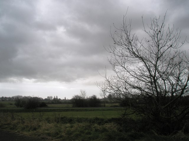 View northwards from Compass Barn