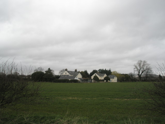 Looking from Compass Barn towards Newells Lane