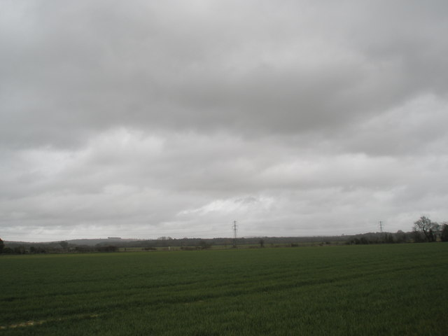 View north west from Compass Barn