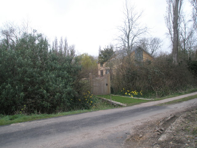 Bridge over ditch in Newells Lane, Bosham