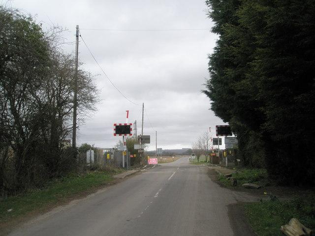 Level crossing near Mudberry Lane, Bosham