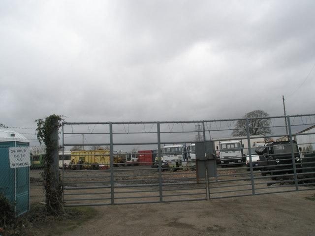 Scrapyard near Mudberry Lane, Bosham