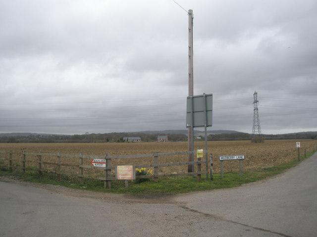 Farmland at Mudberry  Lane, Bosham