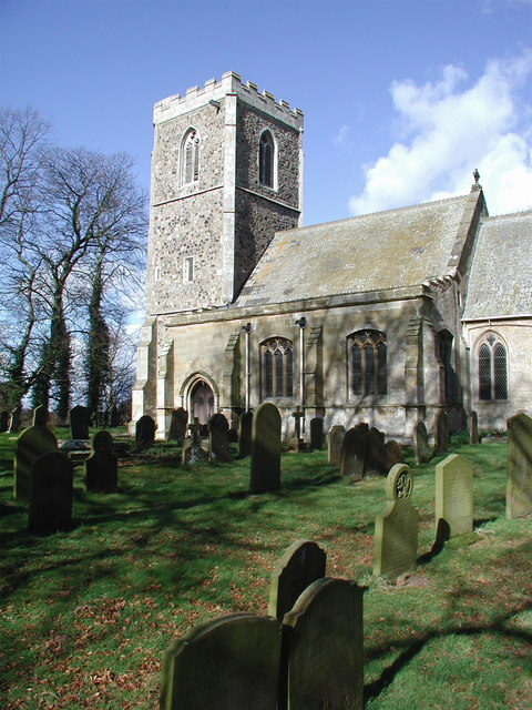 All Saints Church, Halsham