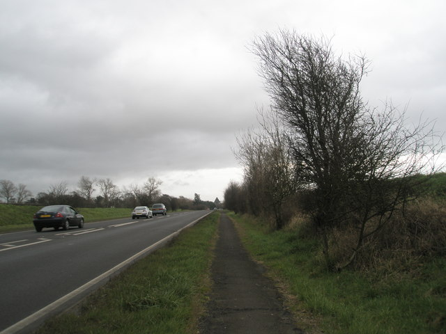 A259 looking east into Bosham