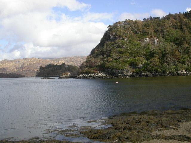 Headland, Loch Moidart