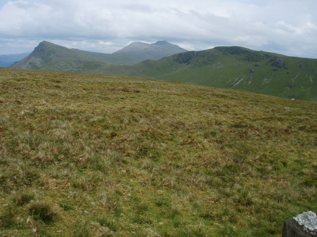 View from Braich Ddu (black arm) looking east