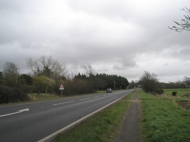 A 259 just before Bosham House