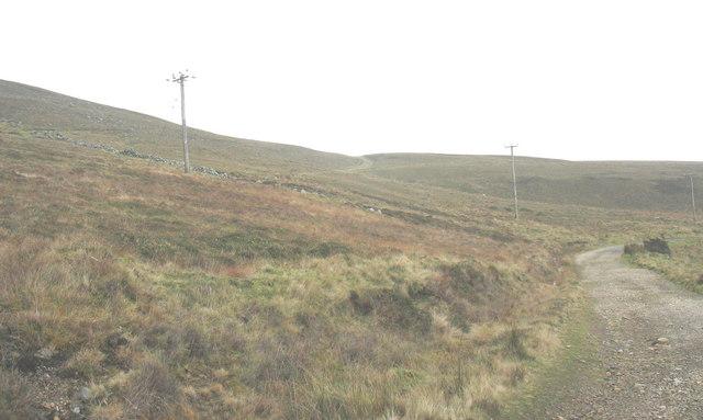 The quarry tracks to Llithfaen