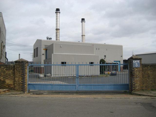 Dartford: Arjo Wiggins paper mill (2)