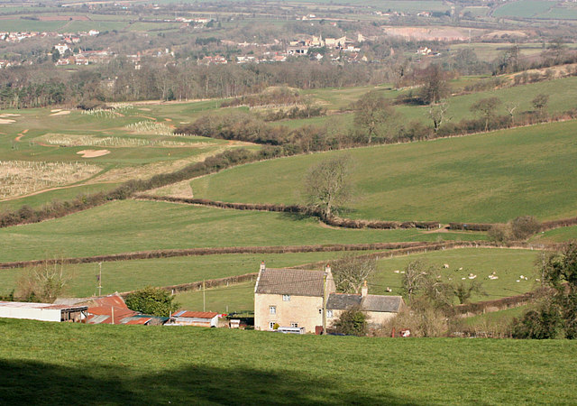 2008 : View from Lansdown (north)