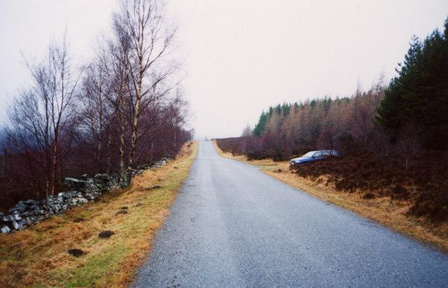 Road near Trinafour