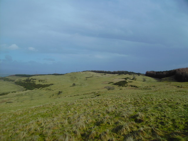 Looking East from Tarduf Hill