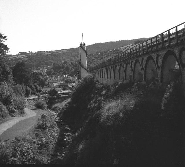 View down Glen Mooar