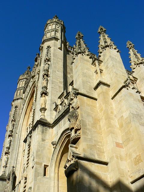 Bath Abbey, west elevation