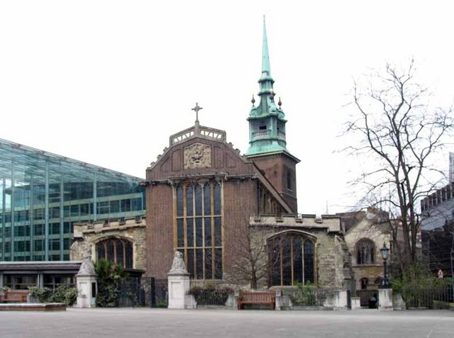 All Hallows by the Tower, Byward Street, London EC3