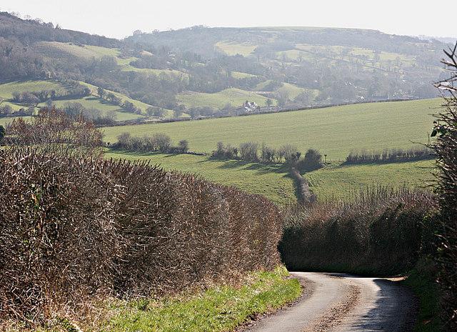 2008 : Langridge Lane looking east