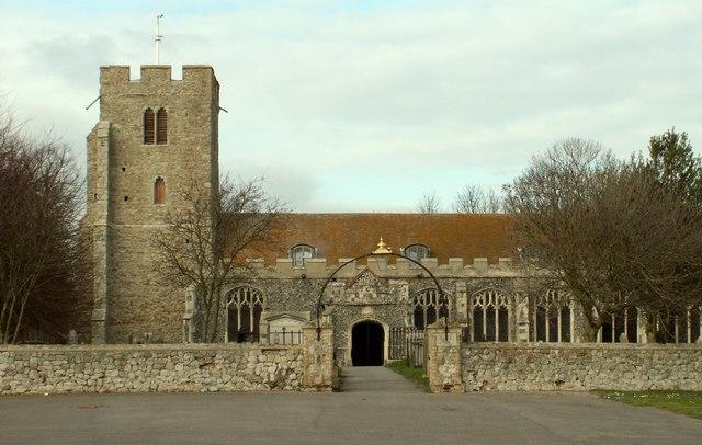 St. Mary; the parish church of Burnham-On-Crouch