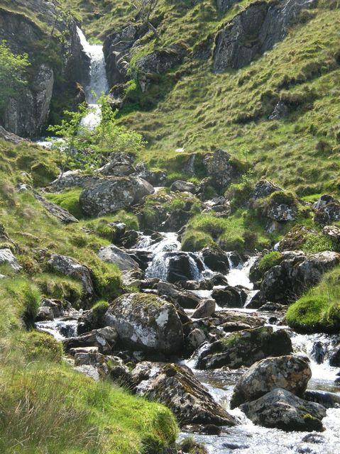 Waterfall on Allt Coire an Lochain