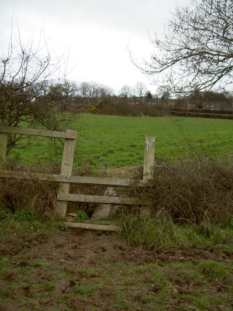 Stile on Footpath