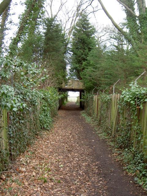Footpath Through Thornton Manor