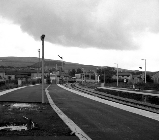 Looking east from Skipton