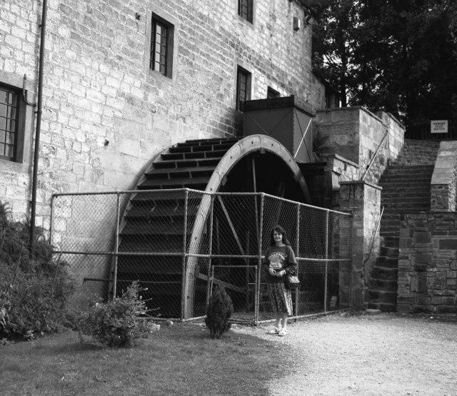 Water wheel at Darley Mill, Yorkshire