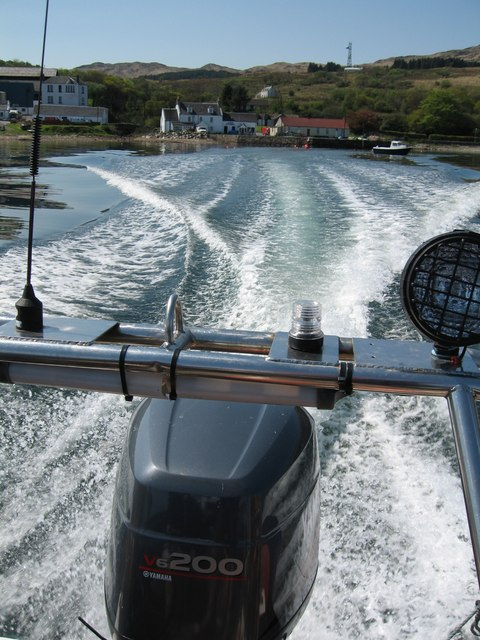Leaving Craighouse