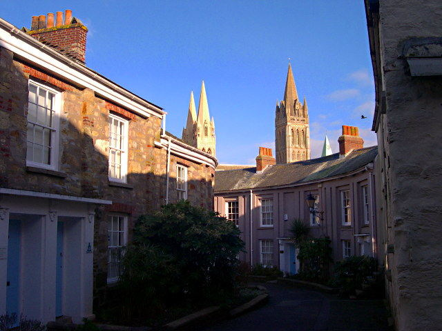 Cathedral Spires over Walsingham Place