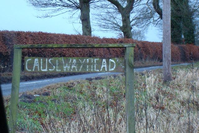 Road to Causewayhead Farm