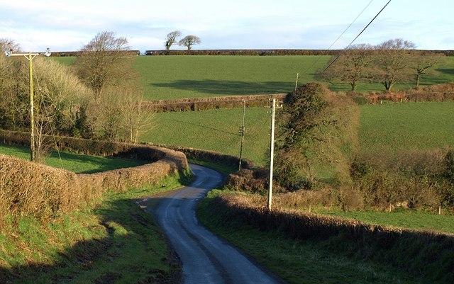 Lane to Badharlick