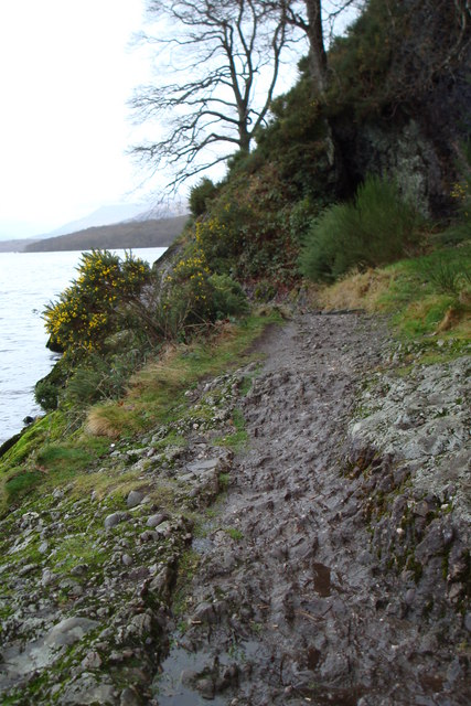 Walk along Loch Lomond at Balmaha