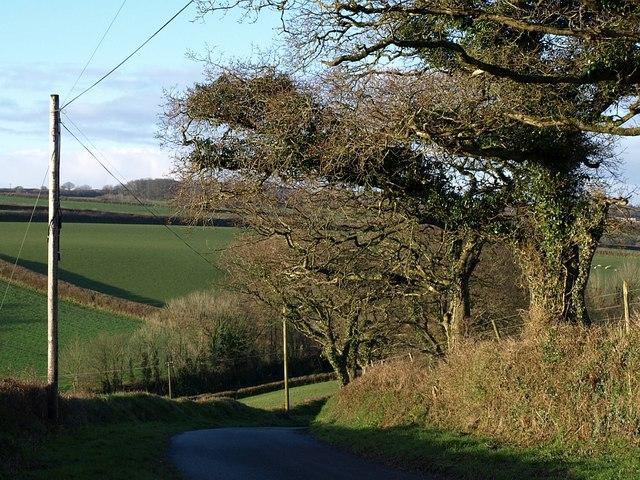 Lane to Tredundle