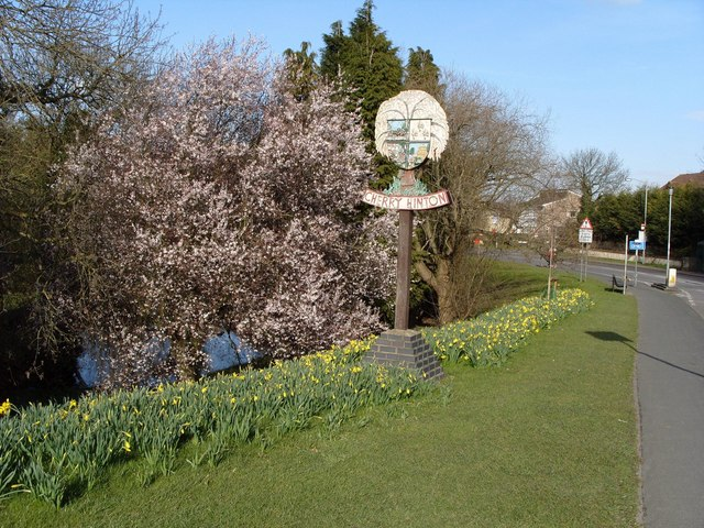 Cherry Hinton Village Sign