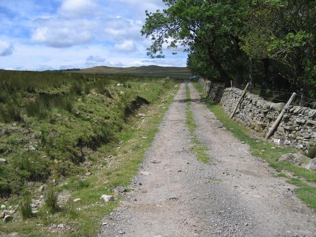 Lane to Kirkby Fell