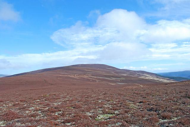 The Maim looking towards Geallaig Hill - 2