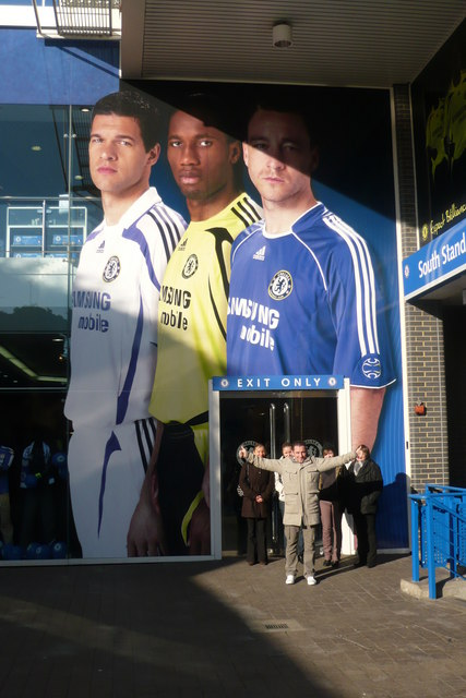 Stamford Bridge Football Stadium Main Entrance