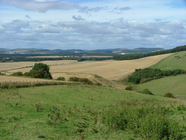 View of Springfield and Uthrogle from Walton Hill