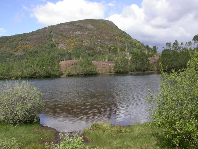 Loch Achonachie and Torr Achilty