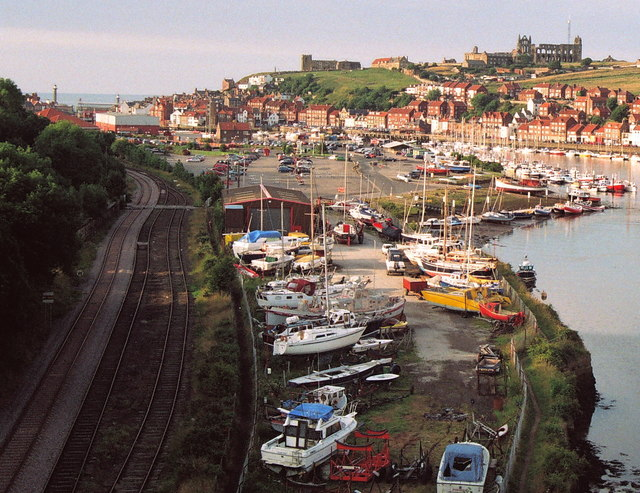 The Esk Dale Railway reaches Whitby