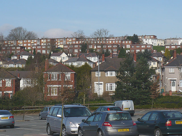 Houses on Cardiff Road
