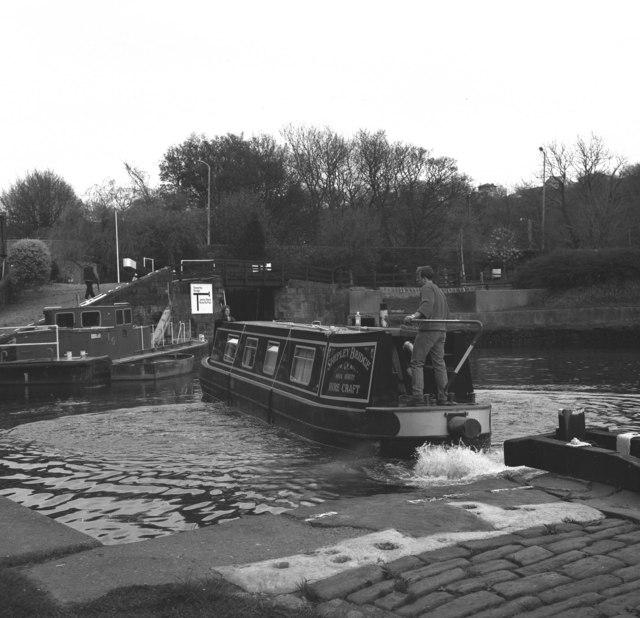 Salterhebble Locks, Calder and Hebble Navigation