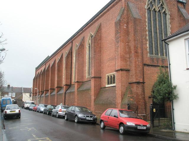A massive church