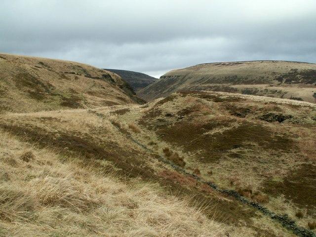 A moorland scene