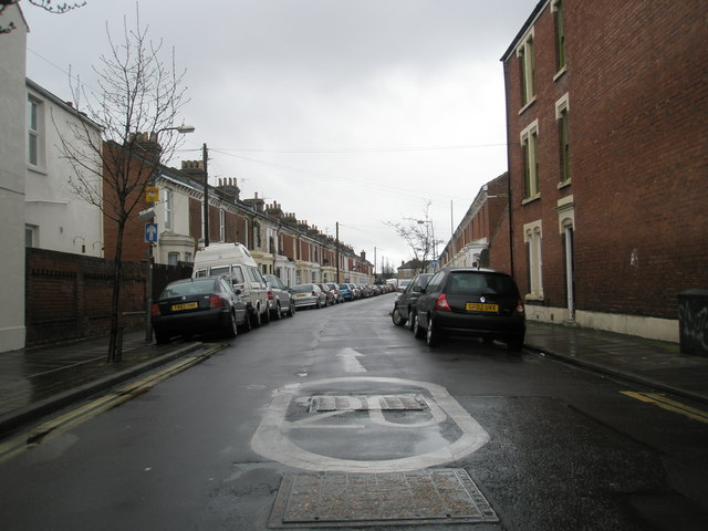 New 20mph limit as seen in Darlington Road, Fratton
