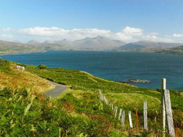 View of Ben More from near Burg, Mull