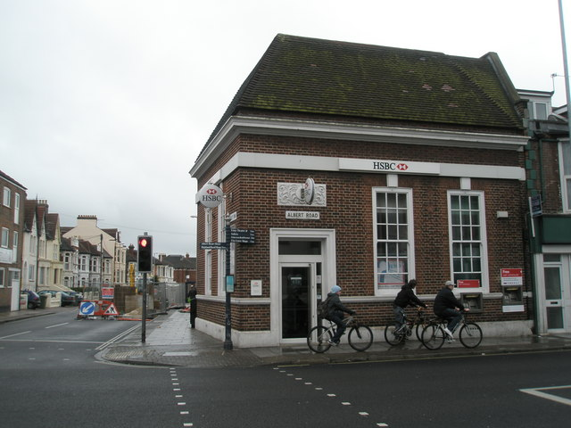 Bank in Albert Road, Southsea